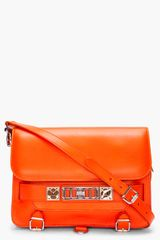 Proenza Schouler Ps11 Orange Classic Bag - Lyst