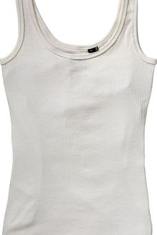 Tommy Hilfiger Round Neck Fitted Tank Top with Tommy Hilfiger L - Lyst