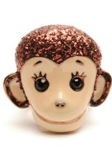 Betsey Johnson Monkey Stretch Ring - Lyst