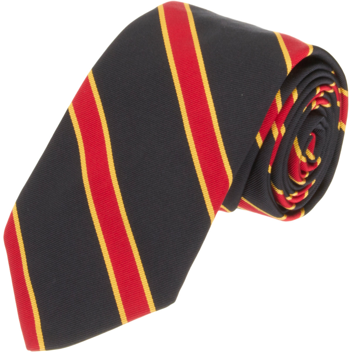 Black Fleece Regimental Stripe Tie In Red For Men Lyst