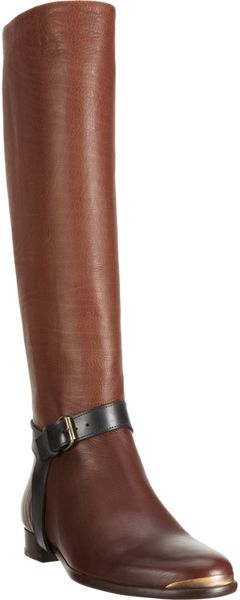 Lanvin Riding Knee Boot - Lyst
