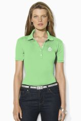 Lauren by Ralph Lauren Jodi Short Sleeved Polo - Lyst