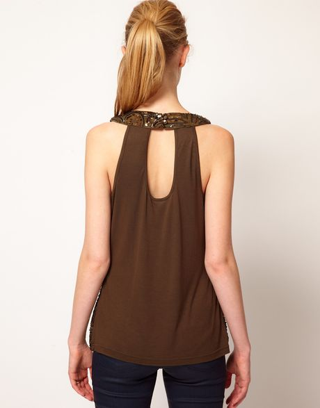 Anthropologie KENAR Women's Size Medium Brown Tank Cami Top. $ 0 bids. Lace Trim Camisole Basic Cami Tank Top Tunic Adjustable Straps Regular Plus Size FINAL SALE Guaranteed Lowest Price Ships from LA. $ Buy It Now. Free Shipping. Lace Camisole. Lace trim adds romantic flair to this super soft stretch cotton-spandex camisole.