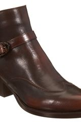 Sartore Side Buckle Ankle Boot - Lyst