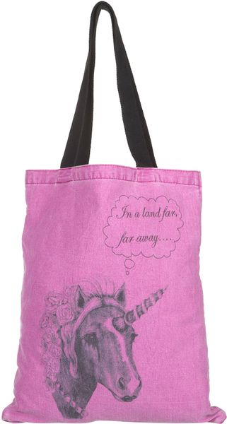 Topshop Unicorn Shopper Bag - Lyst