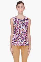 Marc By Marc Jacobs Sherwood Printed Tank Top - Lyst