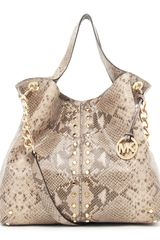 Michael by Michael Kors Uptown Astor Large Shoulder Tote - Lyst