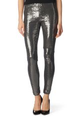 Michael by Michael Kors Sequinned Leggings - Lyst