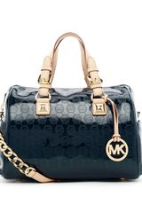 Michael by Michael Kors Grayson Medium Monogram Satchel - Lyst