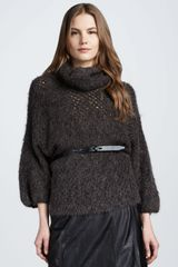 Theyskens' Theory Thick Yarn Sweater - Lyst
