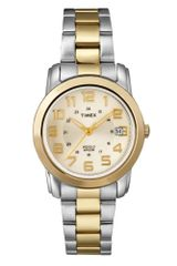 Timex® Two Tone Stainless Steel Bracelet Watch  - Lyst