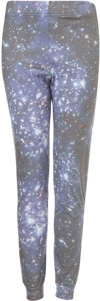 Topshop Space Sublimation Trousers - Lyst