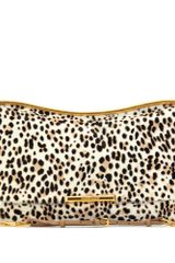 Miu Miu Animal Print Haircalf Shoulder Bag