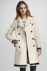 Theory Lightweight Trenchcoat - Lyst