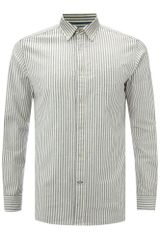 Howick Mercer Stripe Long Sleeve Shirt - Lyst