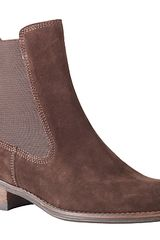 John Lewis Asti Suede Chelsea Boots Chocolate Brown in Brown (chocolate) - Lyst