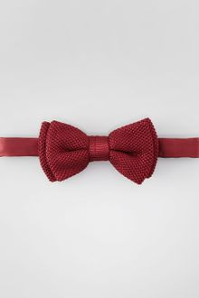 Lanvin Textured Silk Bow Tie Burgundy - Lyst