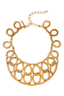 Oscar de la Renta Linked Looped Necklace - Lyst