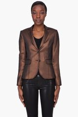 Rag & Bone Copper Bailey Blazer - Lyst