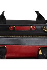 Chloé Colorblock Medium Alice Satchel in Red (gold) - Lyst