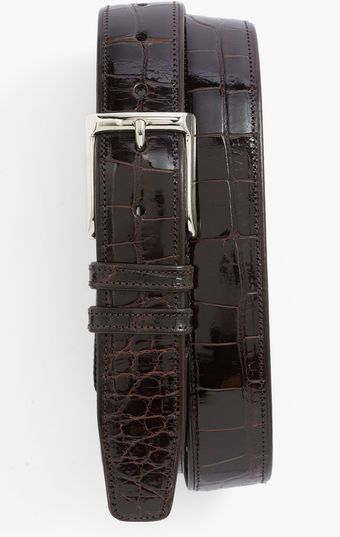 Mezlan Alligator Belt - Lyst