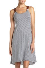Michael By Michael Kors Beltstrap Tank Dress in Gray (washed ind) - Lyst