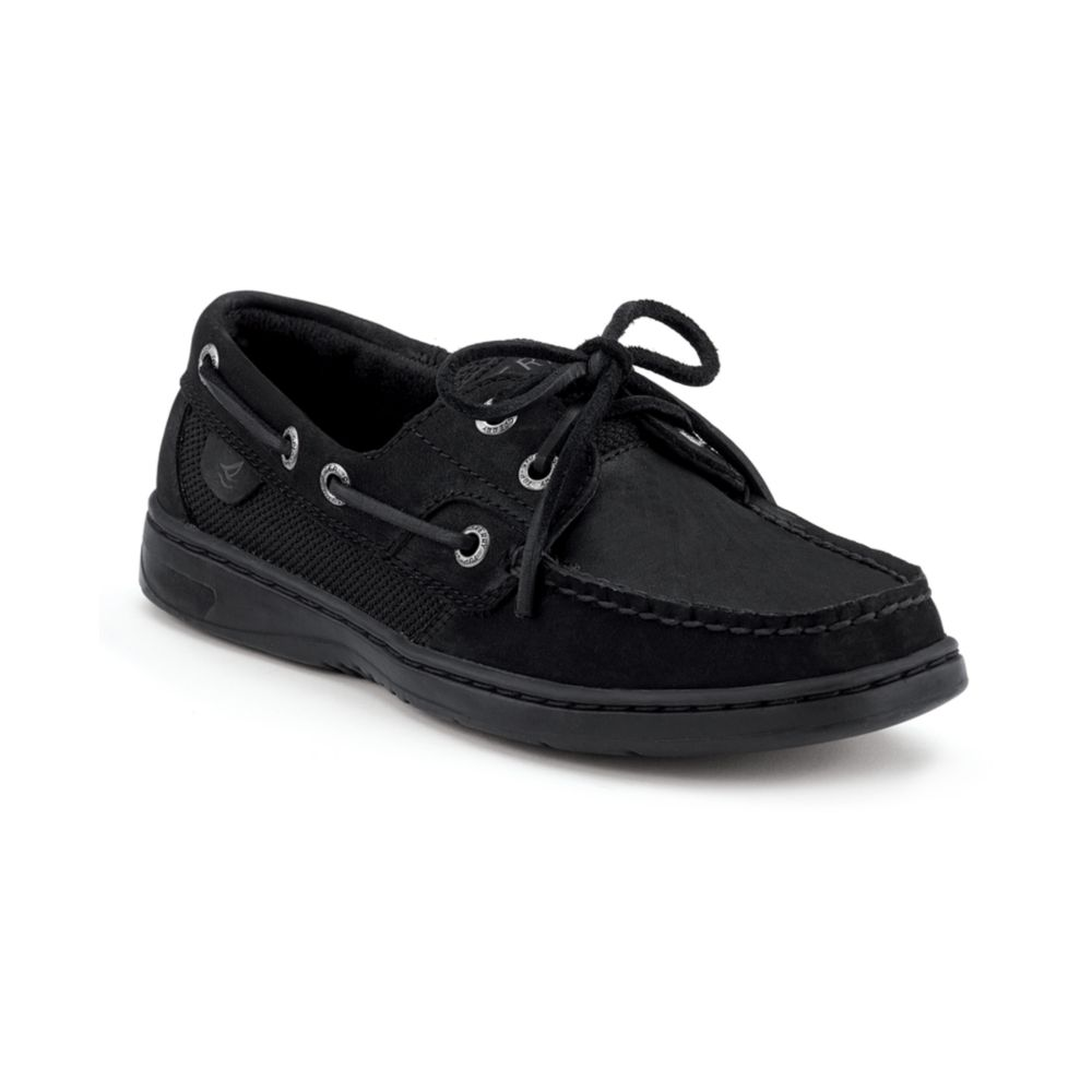 Sperry Top Sider Black Shoes Women S