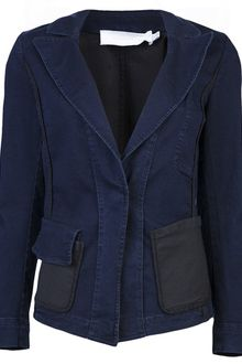 Donna Karan New York Fitted Jacket - Lyst