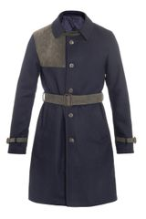 Rake Shootingpatch Trench Coat - Lyst