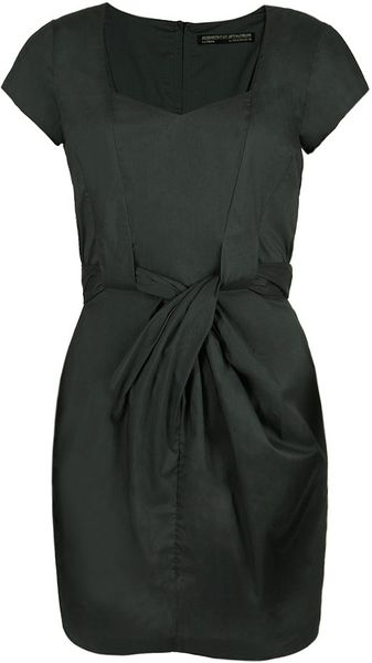Allsaints Alia Dress in Green (emerald)