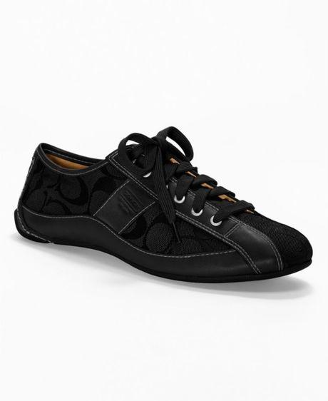 Coach Suee Sneaker in Black (black/black) | Lyst