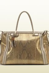 Gucci Bella Top Handle Bag - Lyst
