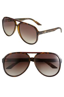Gucci S Aviator Sunglasses - Lyst