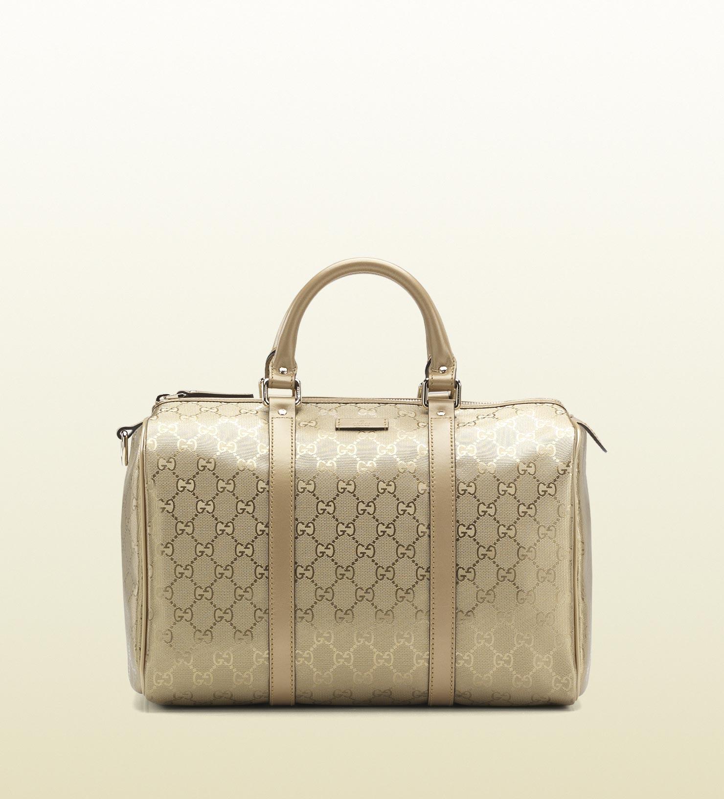 3bdccf9fb07d Gucci Joy Boston Bag in Metallic - Lyst