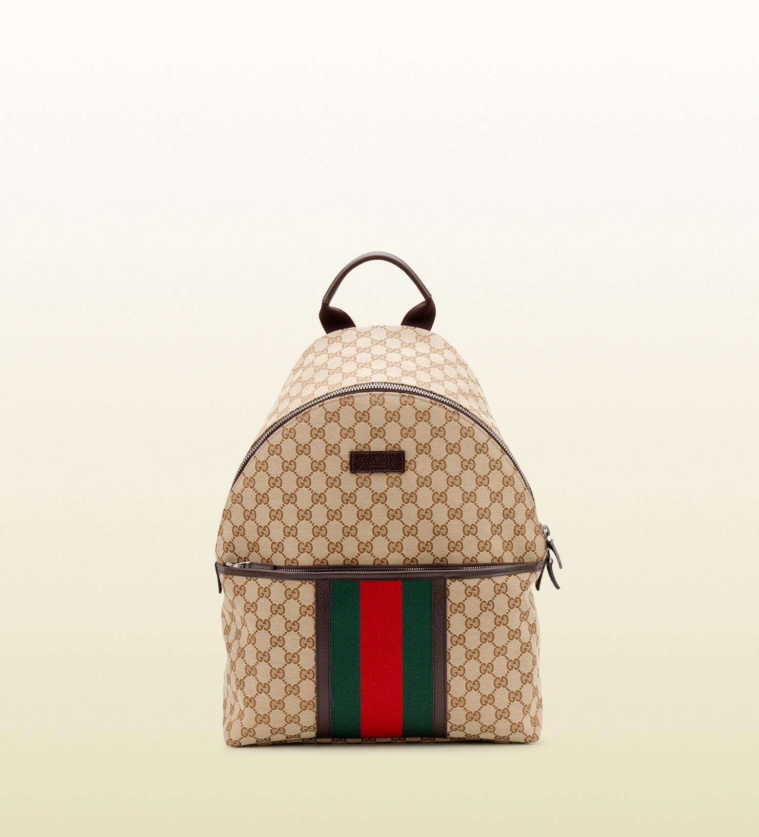 Gucci Original Gg Canvas Backpack In Natural For Men