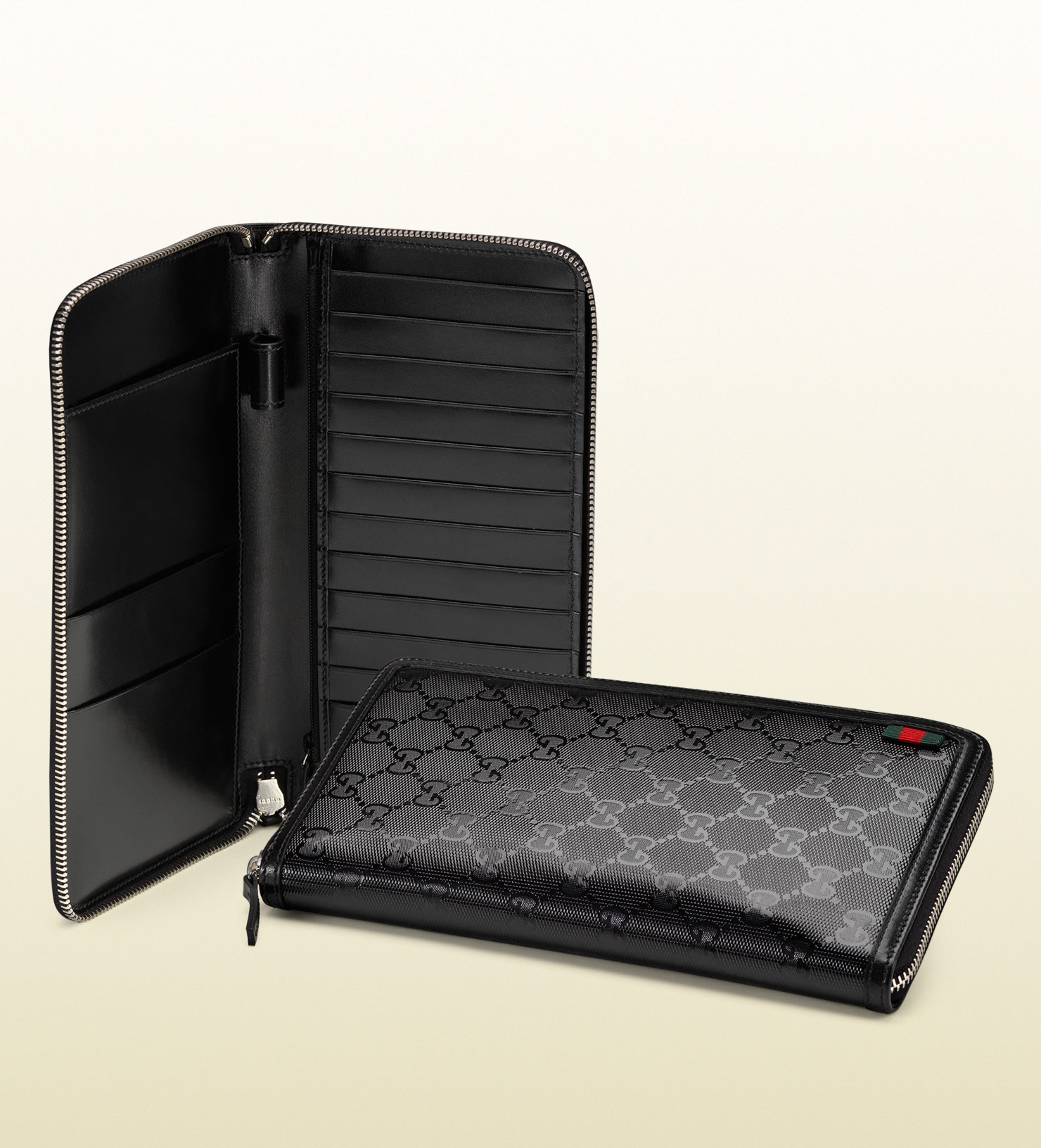 gucci travel document case in black for men lyst With travel document case