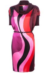 P.a.r.o.s.h. Wave Dress - Lyst