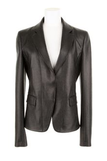 Reed Krakoff Coated Twill Boned Blazer in A Blend Of Wool - Lyst