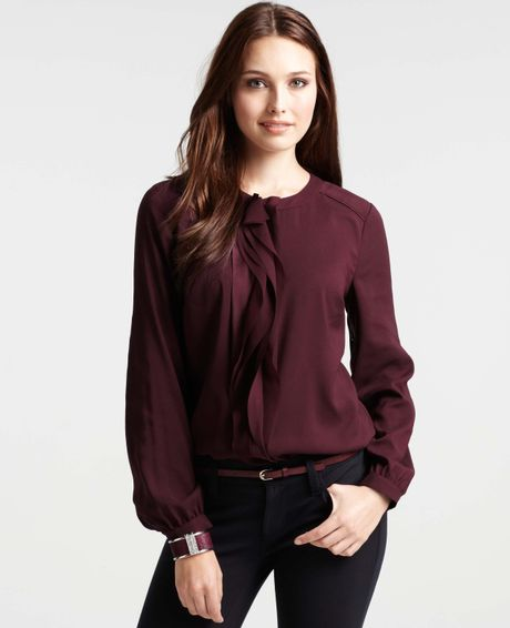 Plum Colored Blouses