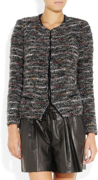 Etoile Isabel Marant Monty Boucl 233 Tweed Jacket In