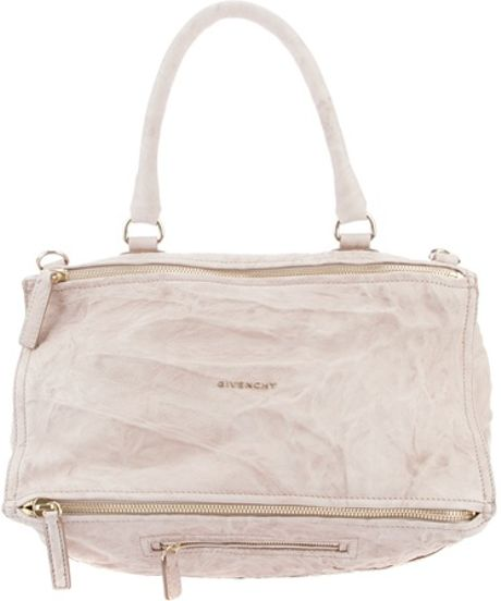 Givenchy Pandora Large Bag in Beige (nude) - Lyst