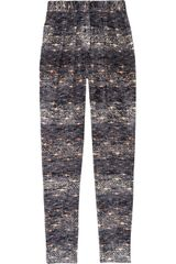 Isabel Marant Edilon Devoré Velvet Tapered Pants