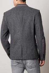 Marc By Marc Jacobs Yelena Felt Jacket in Gray for Men (grey) - Lyst
