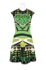 Mary Katrantzou Dress in Viscose and Cotton - Lyst