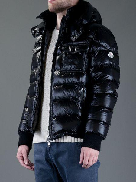 Moncler Fedor Padded Jacket In Black For Men Lyst