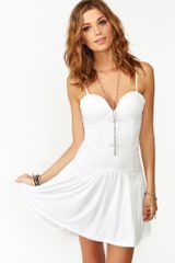 Nasty Gal Stranded Sweetheart Dress - Lyst
