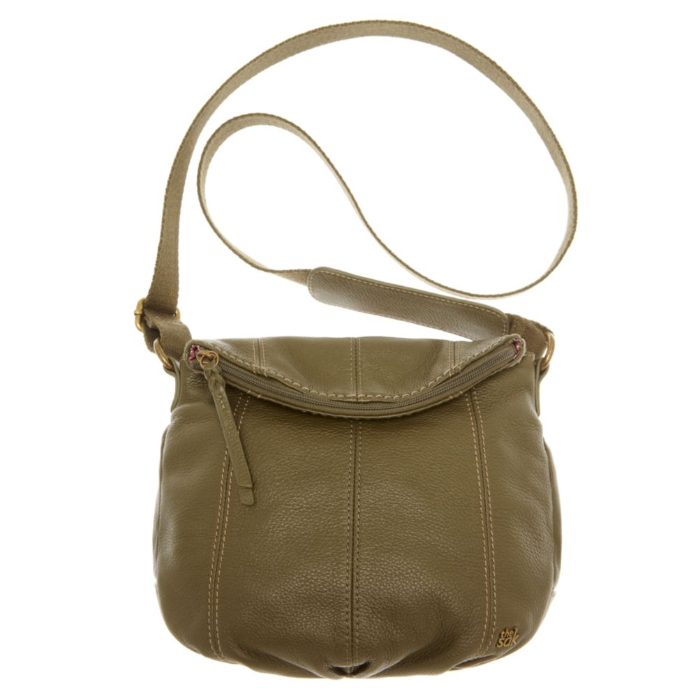 1b4be5fa5fe7 Lyst - The Sak Deena Flap Crossbody Bag in Green