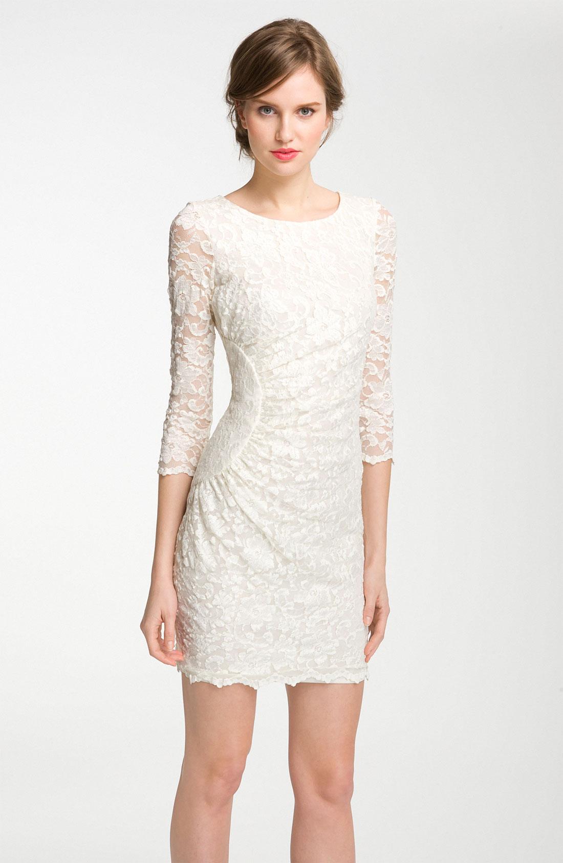 Sheath dress white - White dress