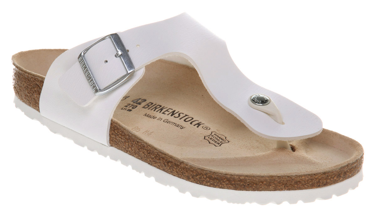 b1daef5b898 Lyst - Birkenstock Ramses Thong Sandal White Rubber in White for Men