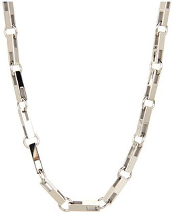 Breil Chain Rectangle Shape Necklace - Lyst